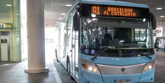 Flughafen El Prat Barcelona Bus